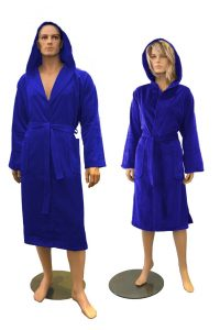 Badjas Kobalt blauw