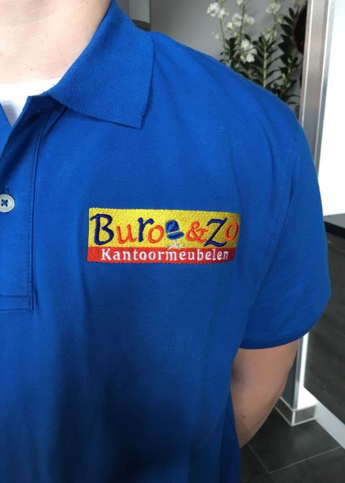 polo shirt borst borduring buro & zo 6 maart 2018